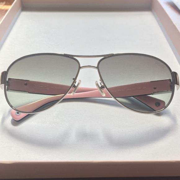 e8584f9dc4ff Coach Accessories | Authentic Charity Aviator Sunglasses | Poshmark